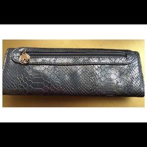 Big Buddha Bags - Big Buddha Silver Wallet